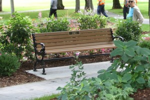 Victorian-style Bench