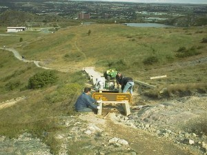 Signal Hill - to - Queens Battery Demonstration